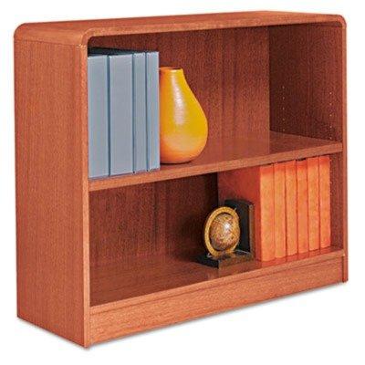 ALEBCR23036MO - Best Radius Corner Wood Veneer Bookcase