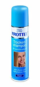 Swiss-o-Par Frottee Trockenshampoo Spray 200 ml, 5er Pack (5 x 200 ml) - Swiss-o-Par
