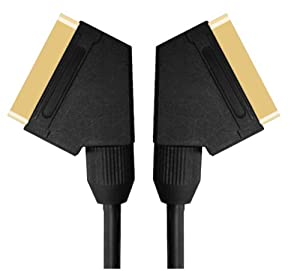 Strand Gold Plated Scart to Scart Lead 1.5m