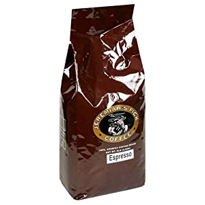 Jeremiah's Pick Coffee Espresso Whole Bean Coffee, 5-Pound Bag from Jeremiah's Pick Coffee