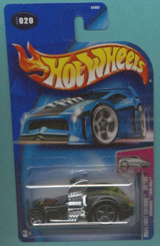 Mattel Hot Wheels 2004 1:64 Scale Black Twin Mill Die Cast Car #020 - 1