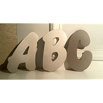 Individual Metal Letters 6in, 8in, 12in, and 20in