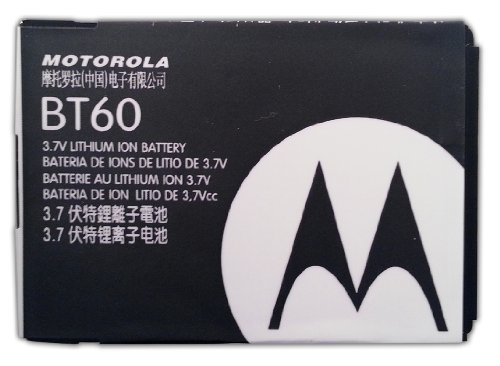 Motorola BT60 BT 60 1000 mAh Battery for Motorola MOTO Q8 / Motorola Q 9H / Q9M / Q9C / RAZR VE20 / Rival A455 / Evoke QA4 / Tundra VA76r / Renew W233 / ROKR Z6m / RIZR Z6tv / A1200 / A1210 / A3000 / A3100 / L800T / C168i / C290 / V190 / V195 / V235 / V325 / V361 / V365 / VE240 / W175 / W315 / W370 / ACTV W450 / W490 / W510 / W5 / i410 / i576 / i576S / i580 / i880 / I885 / ic902 / i776 (Motorola Rival A455 Battery compare prices)