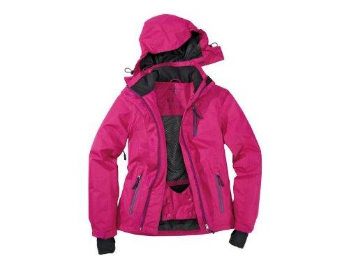 Damen Skijacke Gr. 38 Farbe: Rosa-Lila Snowboardjacke Schneejacke Winterjacke Jacke kaufen