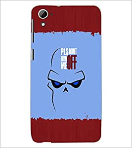 PrintDhaba Quote D-2621 Back Case Cover for HTC DESIRE 826 (Multi-Coloured)
