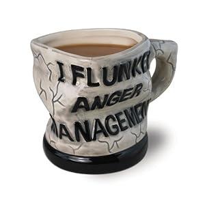 Big Mouth Toys Anger Management Ceramic Mug by Big Mouth Toys