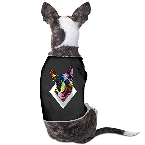 Boston Terrier Black Pet Dog T Shirt