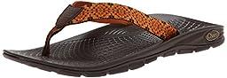 Chaco Men\'s Zvolv Flip Flip Sandal, Badge, 8 M US