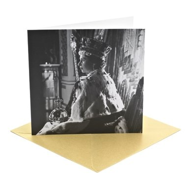 Queen Elizabeth II Coronation Greeting Card