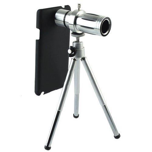 Kingmas Camera Telescope Lens 12X Zoom +Tripod +Hard Case For Samsung Galaxy Note 3 Iii N9000