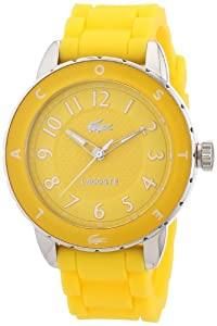 Lacoste Damen-Armbanduhr Analog Quarz Silikon 2000745