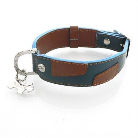 "Hundehalsband ""Alfie Blue Tan"" Größe 3"