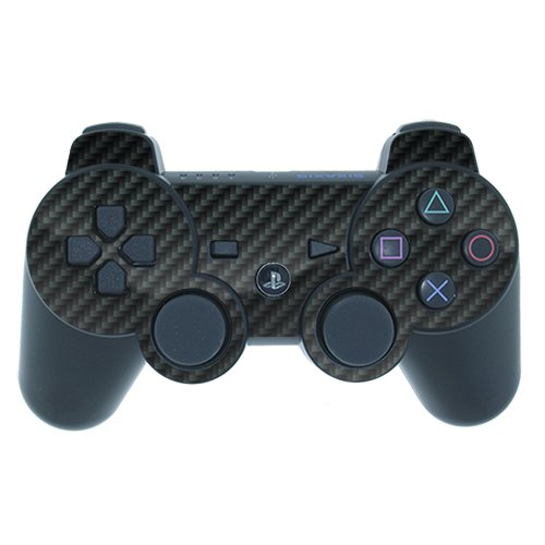 DecalGirl Decorative Skin/Decal for PlayStation 3 Controller - Carbon