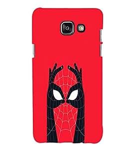 printtech Superhero Avengers Back Case Cover for Samsung Galaxy A7 (2016)