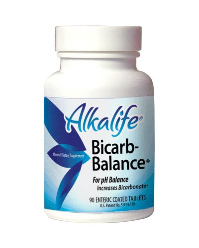 Alkalife Bicarb-Balance PH Booster Tablets, 90 Count (Baking Soda Tablets compare prices)