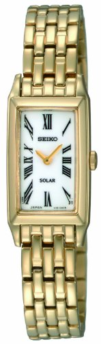Seiko Solar Powered Ladies Bracelet Watch SUP032P1