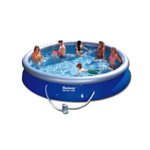 Piscine tubulaire bestway pas cher for Lona piscina bestway