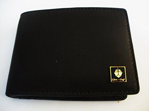 Chris Craft Men'S Bi-Fold Italian Leather Wallet