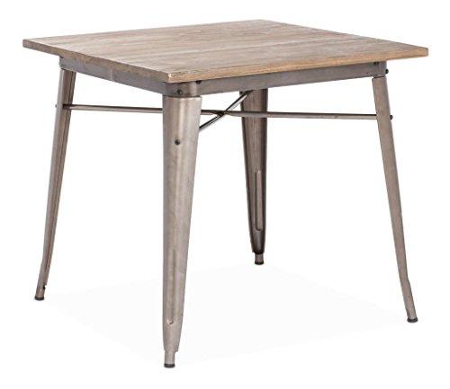 Industrial Wood Coffee Table