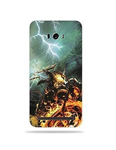 alDivo Premium Quality Printed Mobile Back Cover For Asus Zenfone Selfie / Asus Zenfone Selfie Printed Mobile Case (MKD023-3D-A2-AZS)