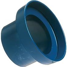 Loc-Line Vacuum Hose Component, Blue Acetal Copolymer, Shop Vacuum Adapter