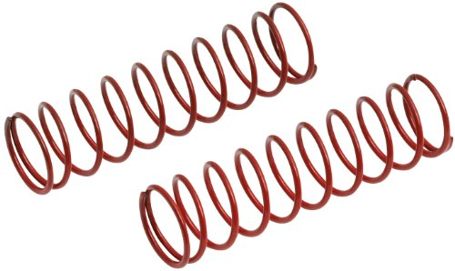 Team Associated 7430 Front Truck Springs, Red, 3.9-Pound