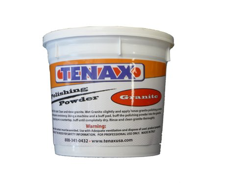 Tenax Granite Polishing Powder / polishing compound 1 kg (2.2 lbs)