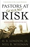 img - for Pastors at Greater Risk book / textbook / text book