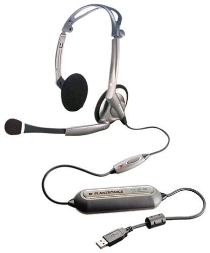 Plantronics DSP-400 Digitally-Enhanced USB Foldable