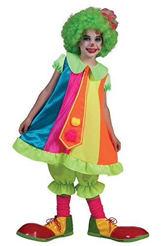 Funny Fashion Dainty Clown Kids Costume
