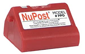 NuPost NPTE700 Compatible Red Ink Cartridge Replacement for Pitney Bowes Postage Meter 769-0 (Red)