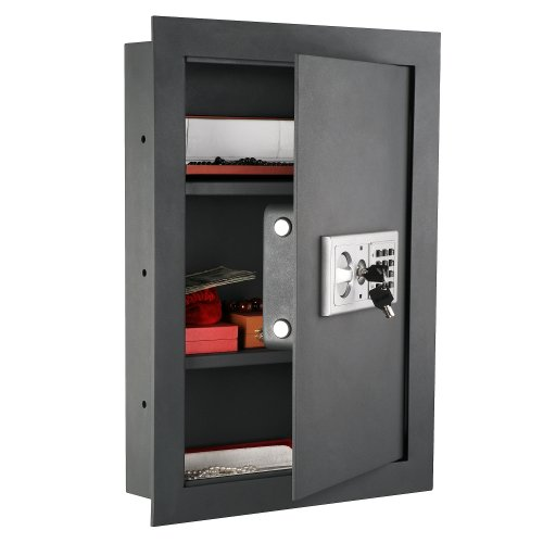 Paragon 7725 Flat Superior Electronic Hidden Wall Safe for Large Jewelry or Small Handgun Security