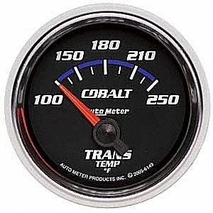 Auto Meter 6149 Cobalt Electric Transmission Temperature Gauge