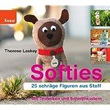 """Softies: 25 schr�ge Figuren aus Stoffvon """"Therese Laskey"""""""