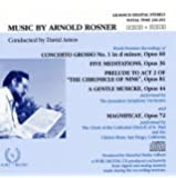 MUSIC By ARNOLD ROSNER