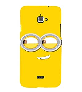 EPICCASE Naughty Minion Mobile Back Case Cover For InFocus M350 (Designer Case)