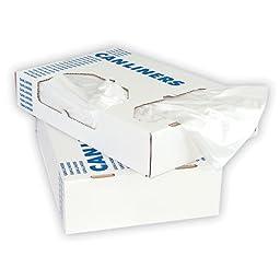 Interplas CL-SHG-3858 60 Gallon Heavy Duty Trash Bags, LLDPE, 1.1 Mil, 58\