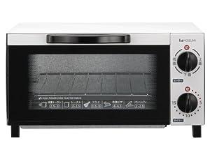 KOIZUMI【切替機能付 1000Wハイパワー 食パン2枚焼き】オーブントースター ホワイト KOS-1012/W