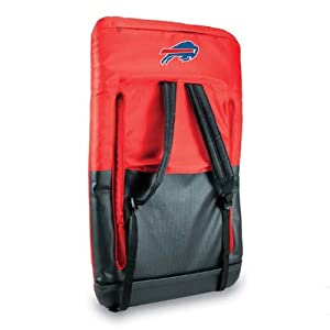 Nfl Buffalo Bills Portable Ventura Reclining Seat Red from Picnic Time
