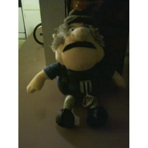 Santa Clause Is Coming To Town Burgermeister Meisterburger plush doll