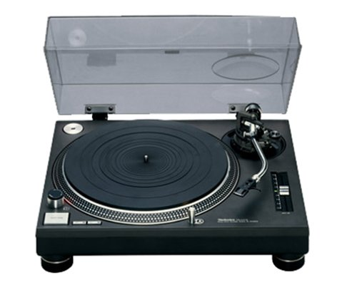 Panasonic Technics 1210MK2EB Professional Turntable Black
