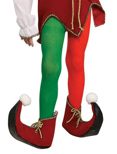 Rubie's Costume Co Child Elf Tights Costume Large Costume