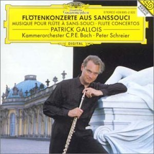 Flute Concerti From Sanssouci by Patrick Gallois