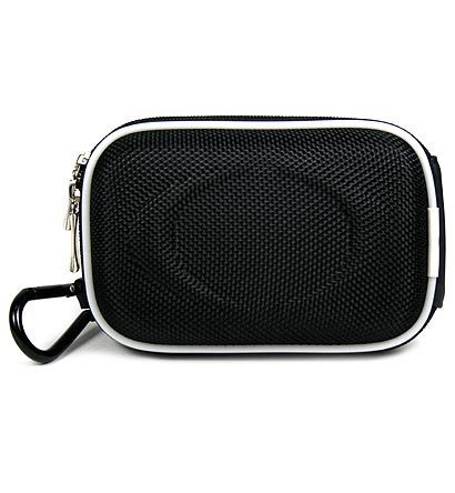Black Airform Hard Shell Carrying Case For Plantronics Voyager 510 510S Bluetooth Headset