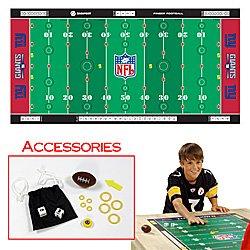 NFLR Licensed Finger FootballT Game Mat - Giants. Product Category: Toys & Games > Finger FootballT > NFL NFC