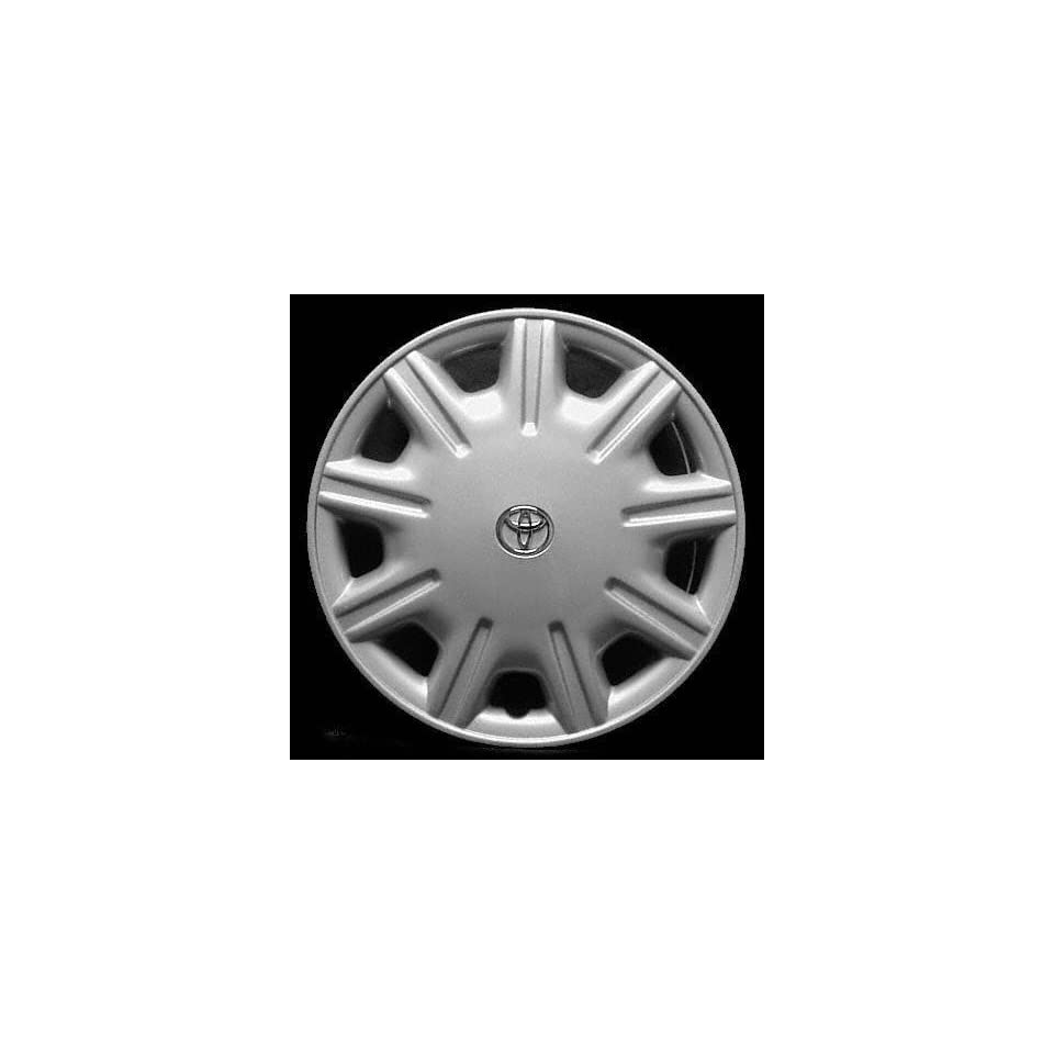 95 99 TOYOTA AVALON WHEEL COVER HUBCAP HUB CAP 15 INCH, 9 HOLE BRIGHT SILVER 15 inch (center not included) (1995 95 1996 96 1997 97 1998 98 1999 99) T261203 FWC61082U20