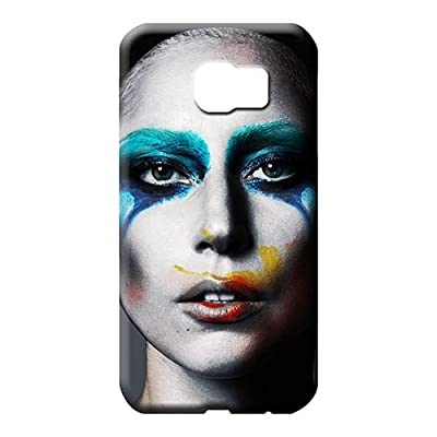 Samsung Galaxy S7 Edge covers Scratch-proof Hot Fashion Design Cases phone carrying shells lady gaga face paint