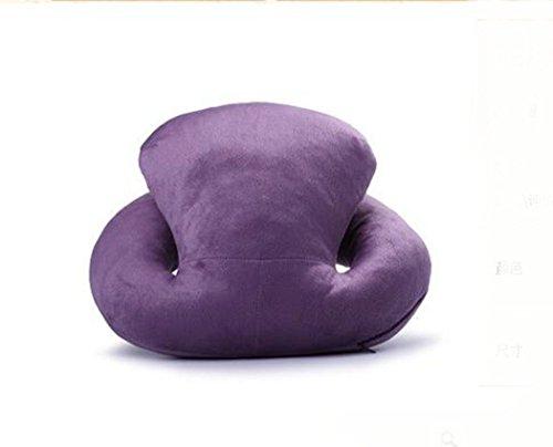 """I-BOSOM creative """"Octopus Forma napping cuscino per Siesta Nap Riposo Snooze viaggio ufficio Sleeping Dark Purple"""