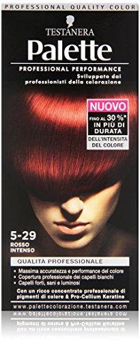 Testanera - Palette, Crema Colorante, 5-29 Rosso Intenso