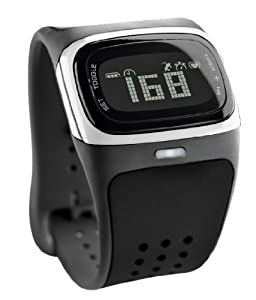 MIO Alpha I Strapless Continuous Heart Rate Monitor, Black/White